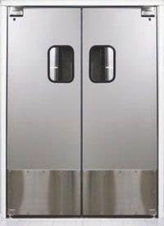 Scp 4 Door Body 75 Exterior Grade Solid Wood Core 1 Total Door Thickness Finish Surface 032 Aluminum Full Rubber Molding Doors Clear Acrylic
