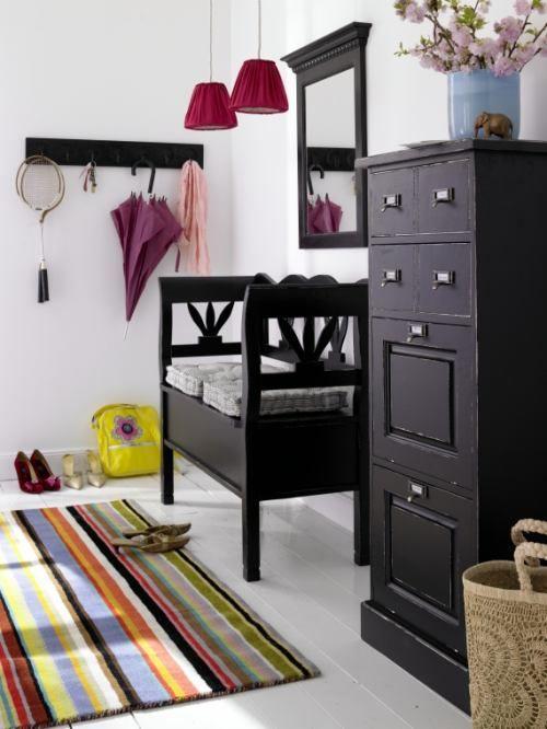 Muebles pr cticos para la decoraci n de recibidores organizacion - Sillones para recibidores ...