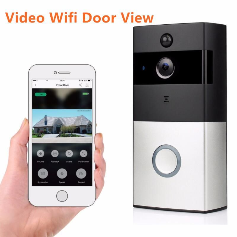 1080p Wireless Wifi Video Doorbell Hd Ring Doorbell Camera Night