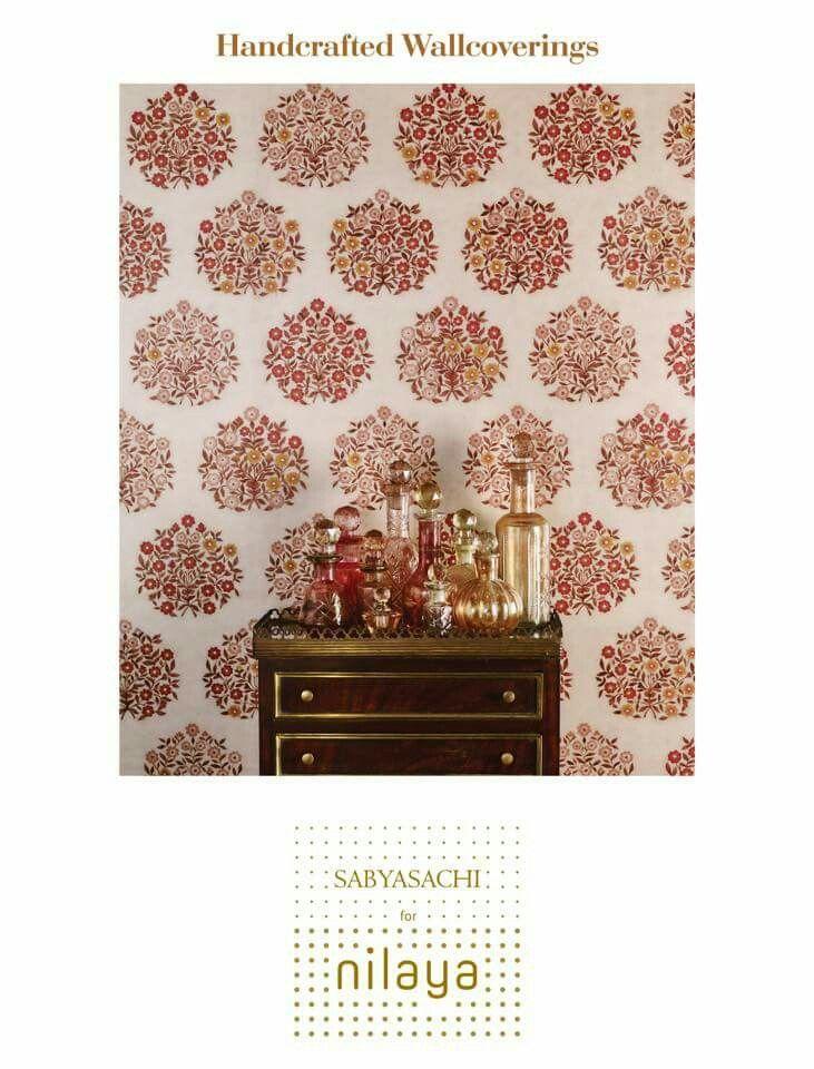 Sabyasachi for Nilaya /Asian Paints/Handcrafted Wallcoverings