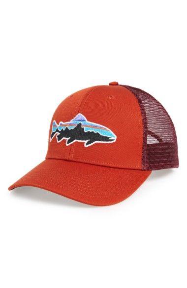 126e56237cd8e PATAGONIA  Fitz Roy - Trout  Trucker Hat.  patagonia