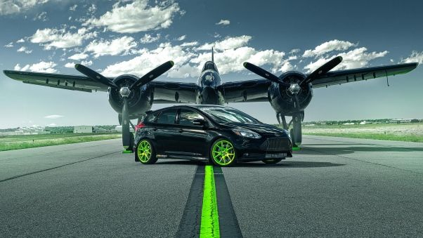 Wallpaper Ford Focus St Ford Plane Runway Ford Focus Ford Focus St Ford Focus Rs Wallpapers