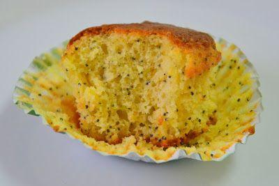 Palavras que enchem a barriga: Muffins de laranja e sementes de papoila para combater a gripe :D
