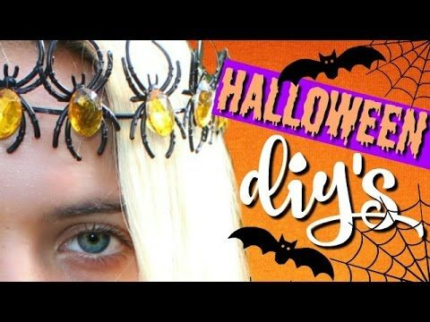 DIY HALLOWEEN DECORATIONS You NEED to Try!! DIY Halloween ideas - how to make halloween decorations youtube
