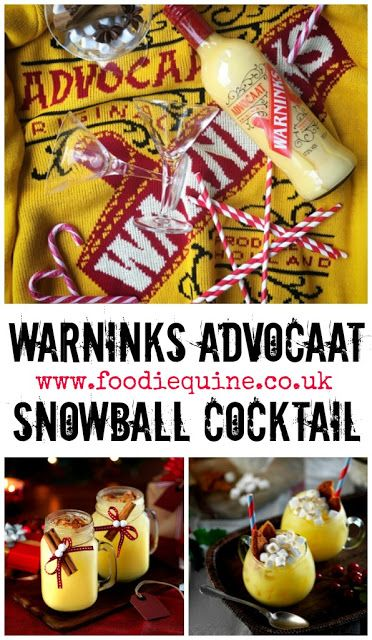 Foodie Quine - Edible Scottish Adventures: Find your perfect Warninks Snowball this Christmas