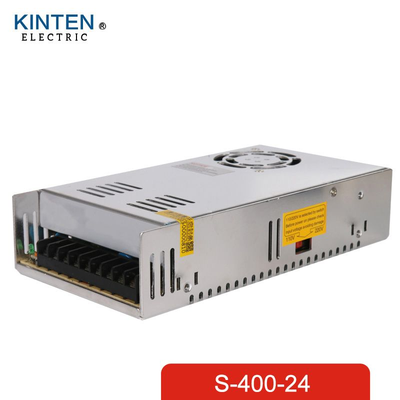 400W 24V 17A Single Output Switching power supply for LED AC to DC ...