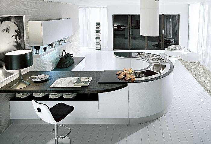 Stunning Cuisine Moderne Ronde Ideas - Matkin.info - matkin.info