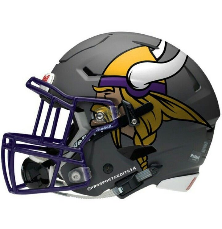 a0ecbf023a895f Can this be the new helmet? | Purple People Eaters | Nfl football ...