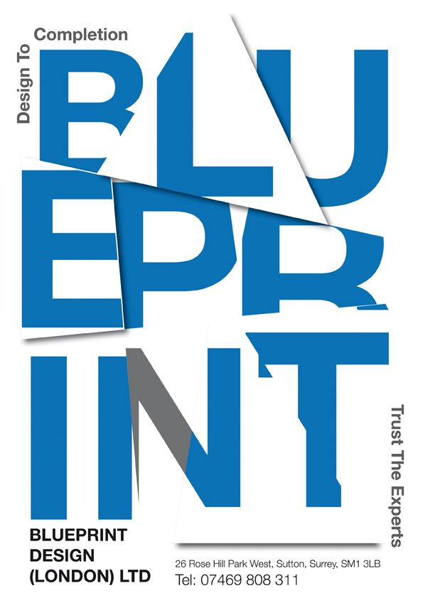 Check out my behance project blueprint design london my check out my behance project blueprint design london malvernweather Images