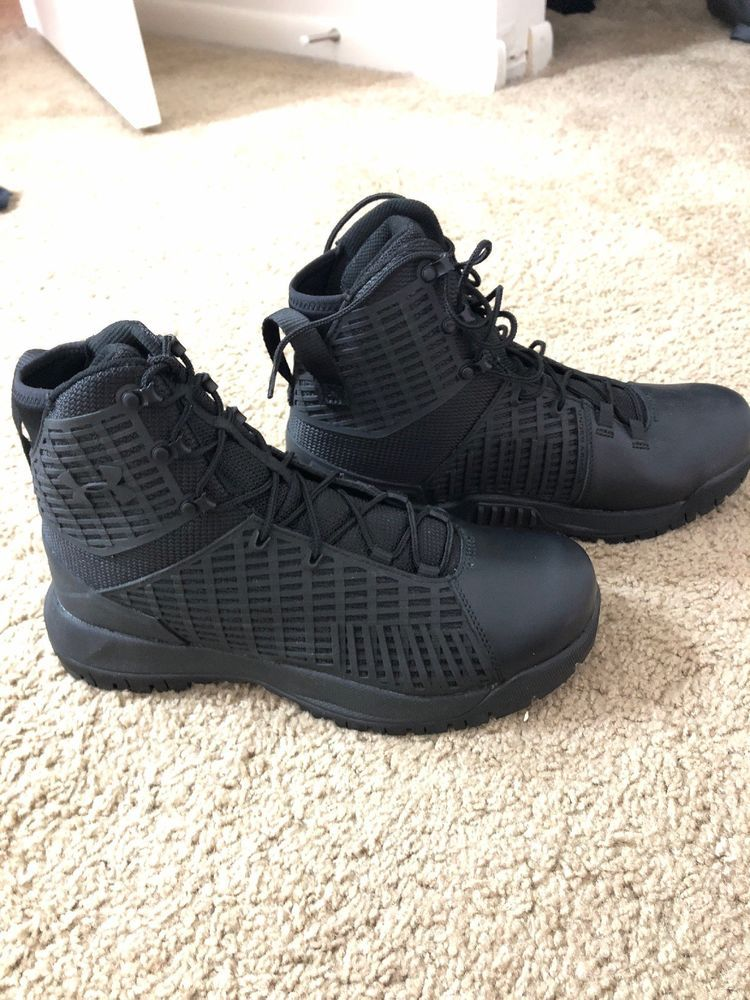 8f745ff178 UNDER ARMOUR UA STRYKER WATERPROOF TACTICAL BOOTS 3000318 - SIZE 9.5 ...
