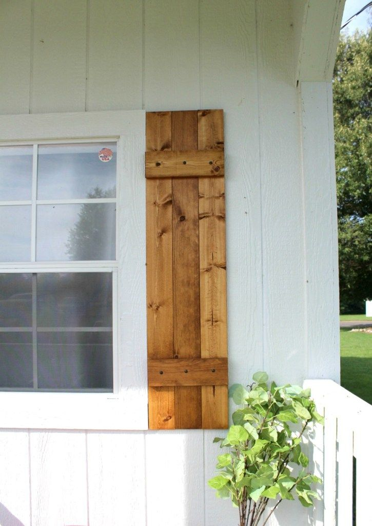 DIY Shutters {Build Your Own Shutters in 5 Steps!} Diy