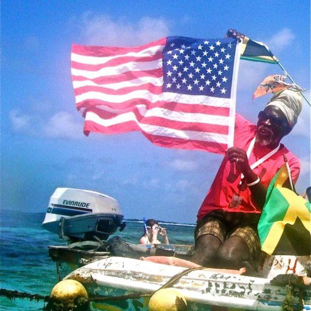Jamaica mon!  My photo...Riu Ocho Rios, King Solomon!!  #jamaica, #travel, #beach, #rastafarian, #photography