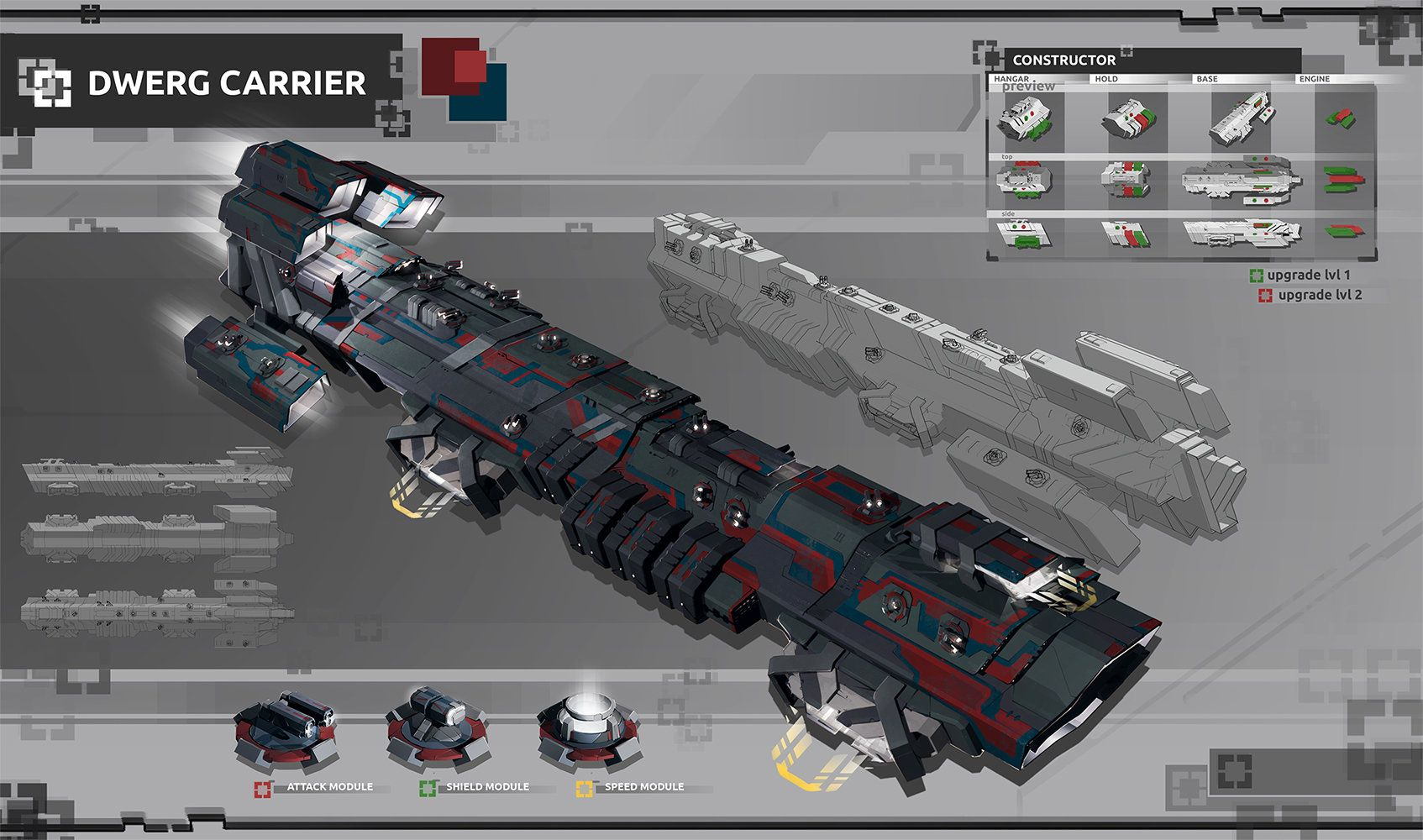 Carrier Concept Art