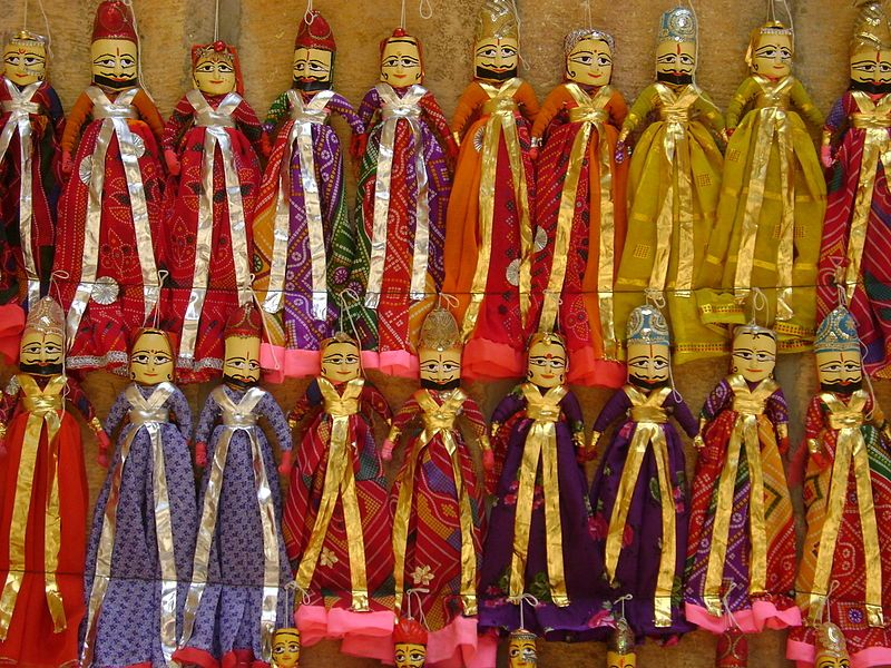 Rajasthan Is Also Famous For Her Dolls The Dolls Dance Is Very