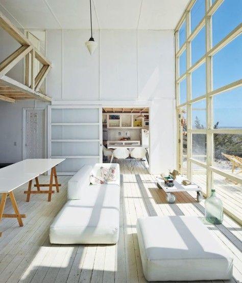 Ideas para decorar una sala de estar de doble altura Indoor pools - ideas para decorar la sala