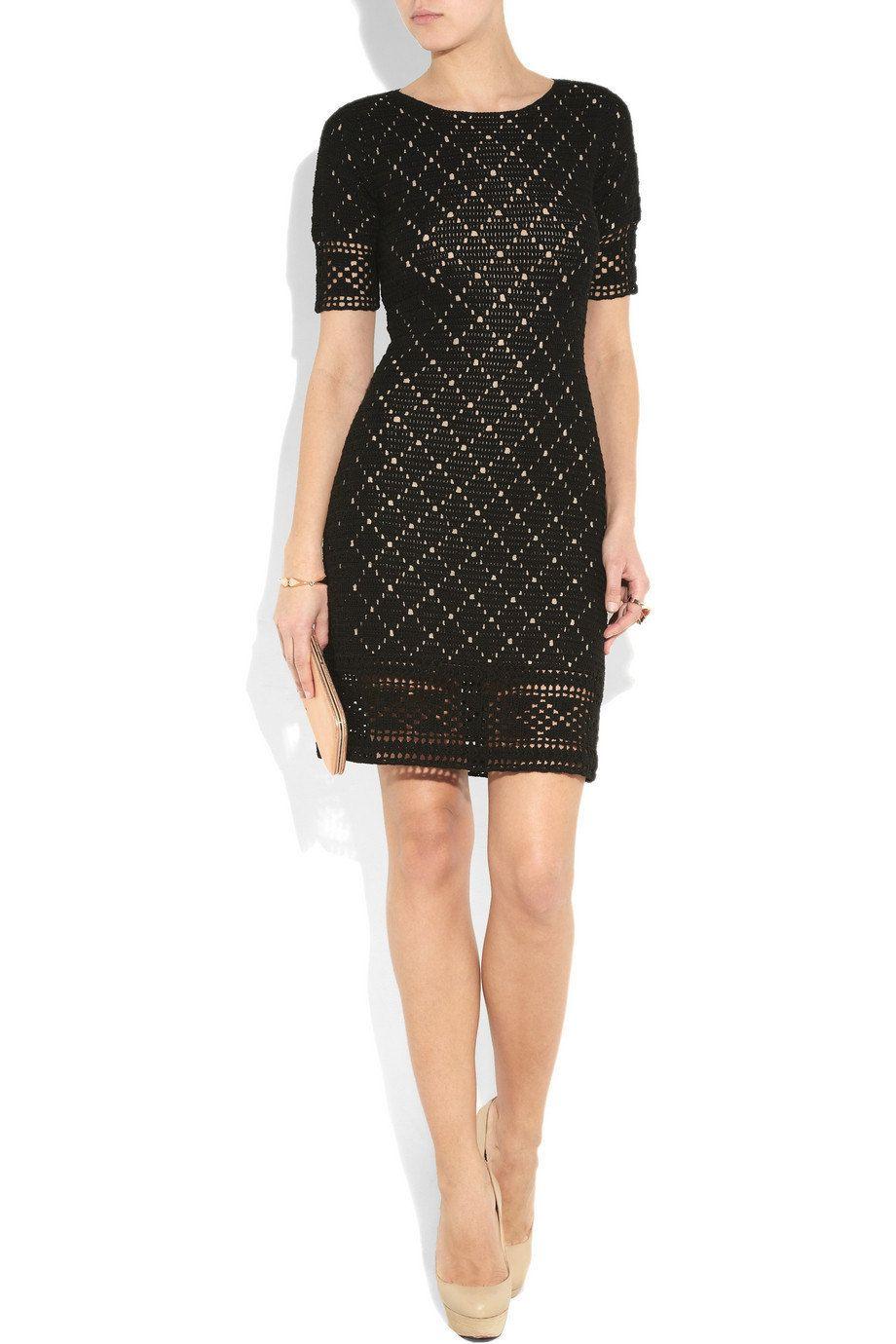 Crochet dress PATTERN, designer crochet dress pattern, detailed ...