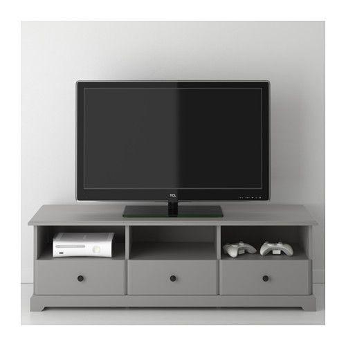 LIATORP Tv bänk, grå Liatorp, Tv och Grå