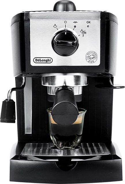 DeLonghi - Espresso Maker/Coffeemaker - Black - Front_Zoom. 1 of 9 . Swipe left for next. #espressomaker