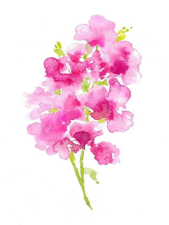flower print wall art