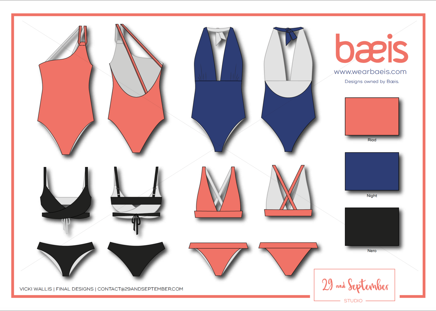 Fashion and swimwear design portfolio technical drawings swim sustainable brand  is came to me also rh pinterest