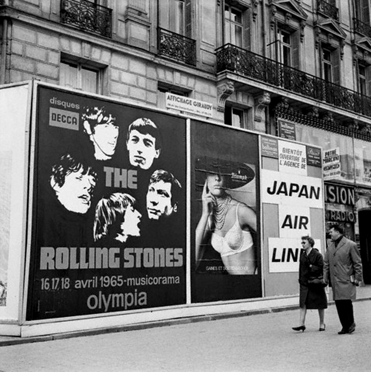 "Paris 1965 ""Rolling Stones - Billboard"""