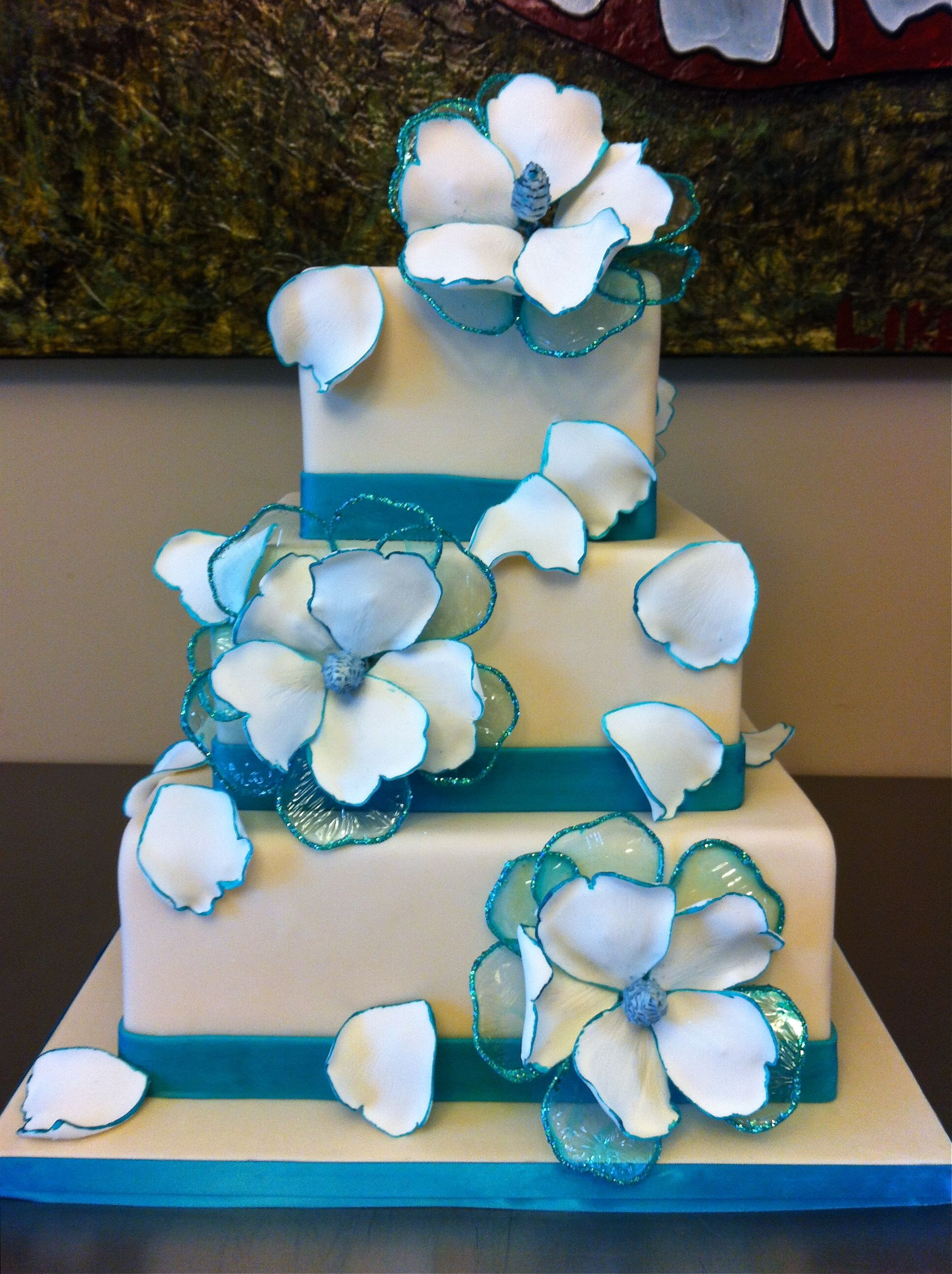 Fantasy Flower Wedding Cake Designed Created By Renay Zamora Of Sweetface Cakes Nashville