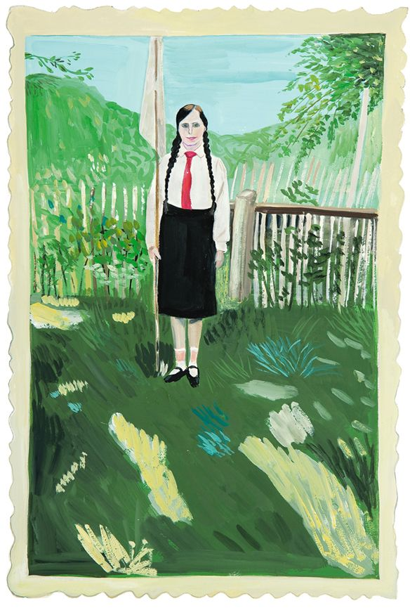Maira Kalman Daniel Handler From Girls Standing On Lawns Book Maira Kalman Art Illustration