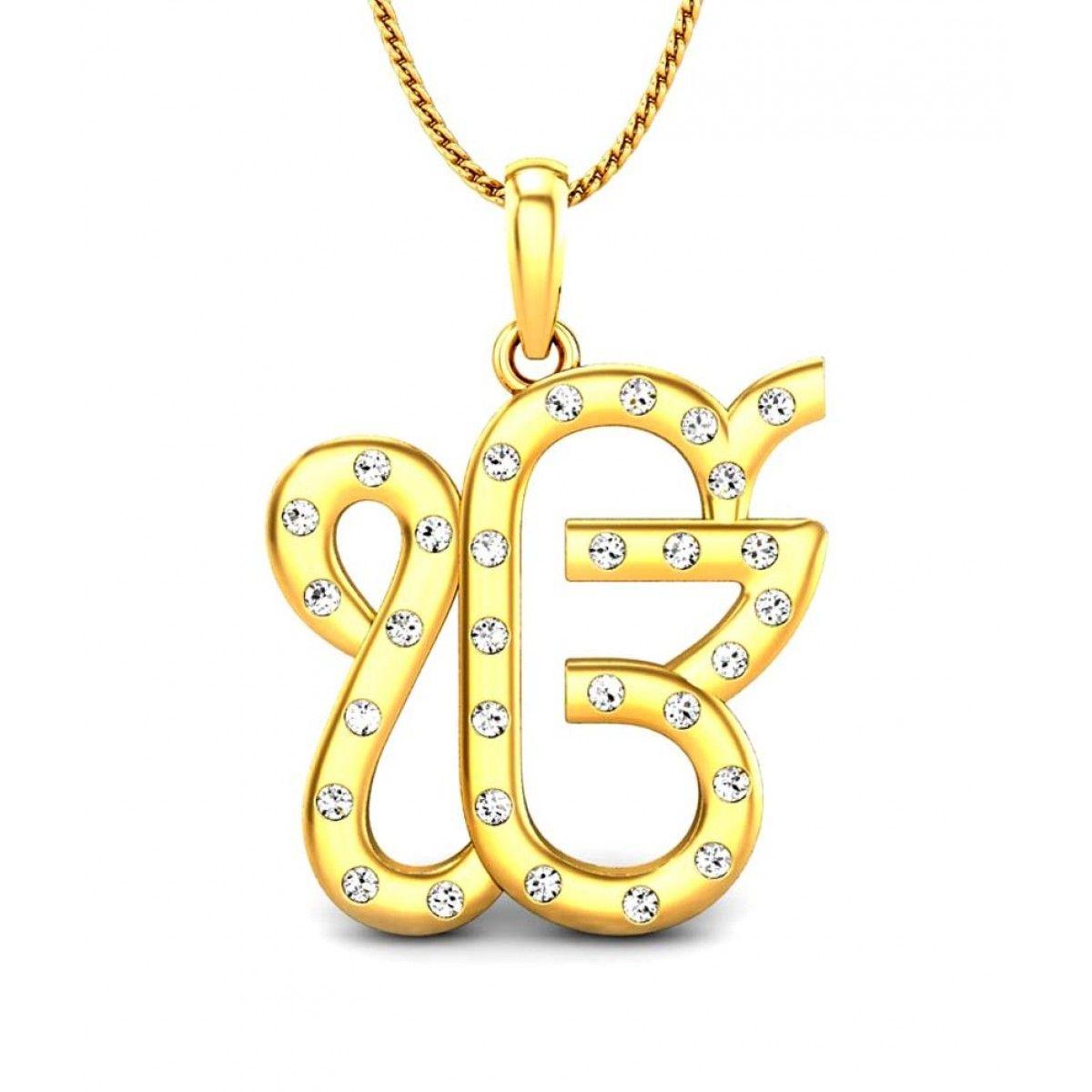 Kataria jewellers ek onkar guru nanak sikh pendant in bis hallmarked kataria jewellers ek onkar guru nanak sikh pendant in bis hallmarked 925 aloadofball Images