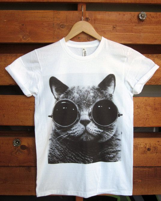 Steampunk Cat Tshirt and Tank Top. Small to XLarge. by TheSellOut, $20.99