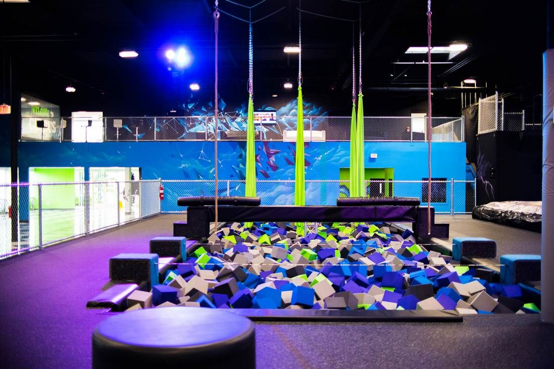 DEFY Seattle Previously Flying Circus Trampoline park