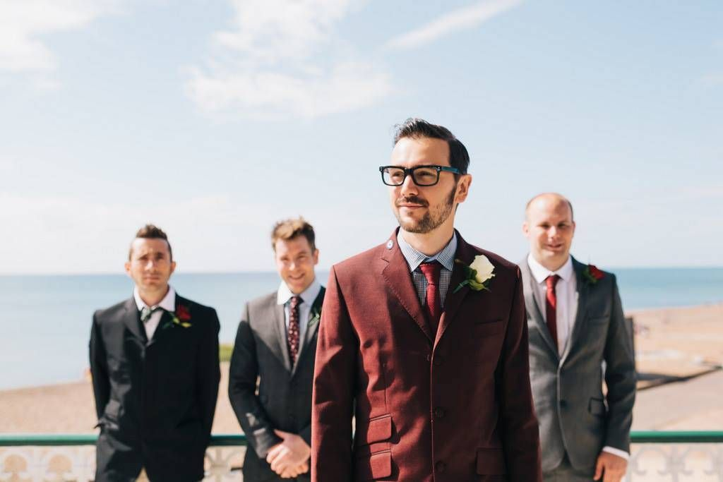 8cd6581bd41e Image by Brighton Photo - 50s Mod Inspired Wedding With An Outdoor Ceremony  At Brighton Bandstand And Reception At Stanmer House With Bride In Candy  Anthony ...