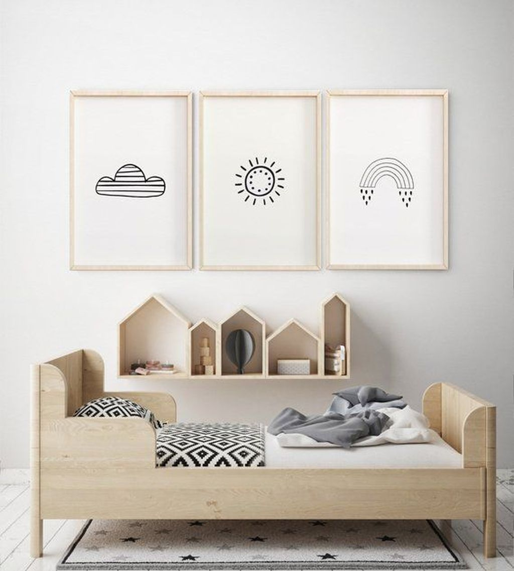 50 Cozy Scandinavian Kids Rooms Designs Ideas images