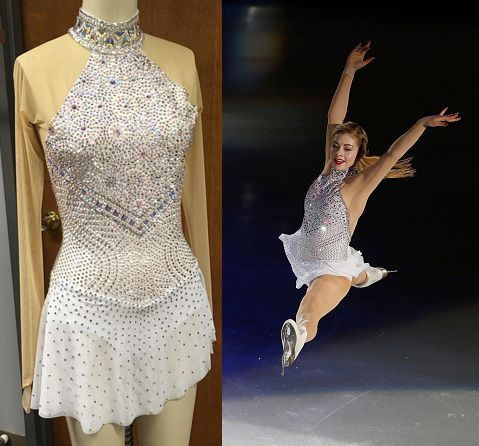 Gracie Gold 2016 Exhibition dress-- Brad Griffies ...Gracie Gold Dress
