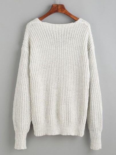 fdcbe25eba grey sweater