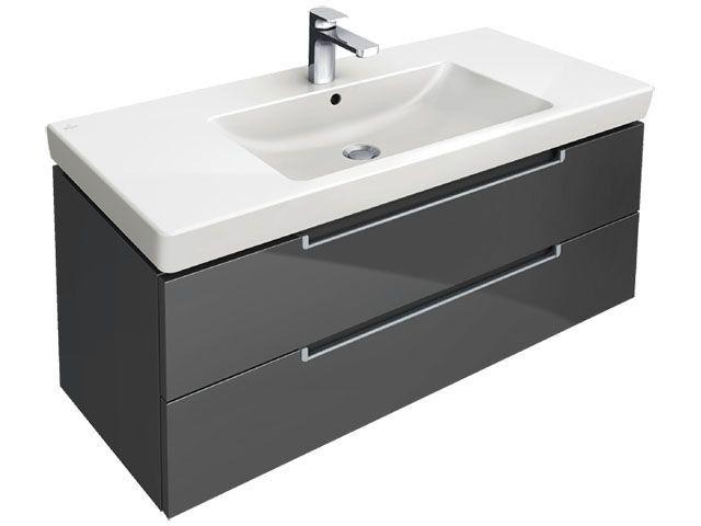 Villeroy Boch Subway 2 0 Vanity Unit 987 X 420 X 449 Waschtischunterbauten Waschtisch 100 Cm Waschtischunterschrank