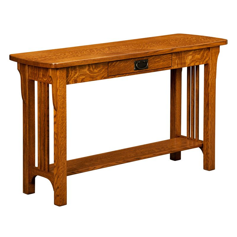Check Out The Craftsman Mission Sofa Table And Other Amish Built Sofa Tables At Shipshewanafurniture Com In 2020 Sofa Table Furniture Mission Style Furniture