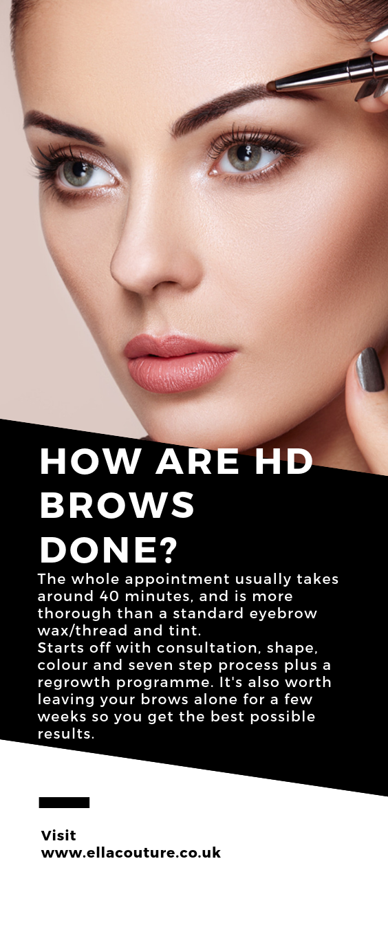How Are Hd Brows Done The Whole Appointment Usually Takes Around 40 Minutes And Is More Thorough Than A Standard Eyebrow Wax Th Hd Brows Brows Waxed Eyebrows