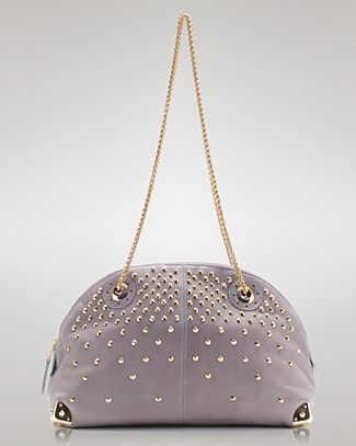 Be&D; - Joyce bag  luxe leather w/ gold studs