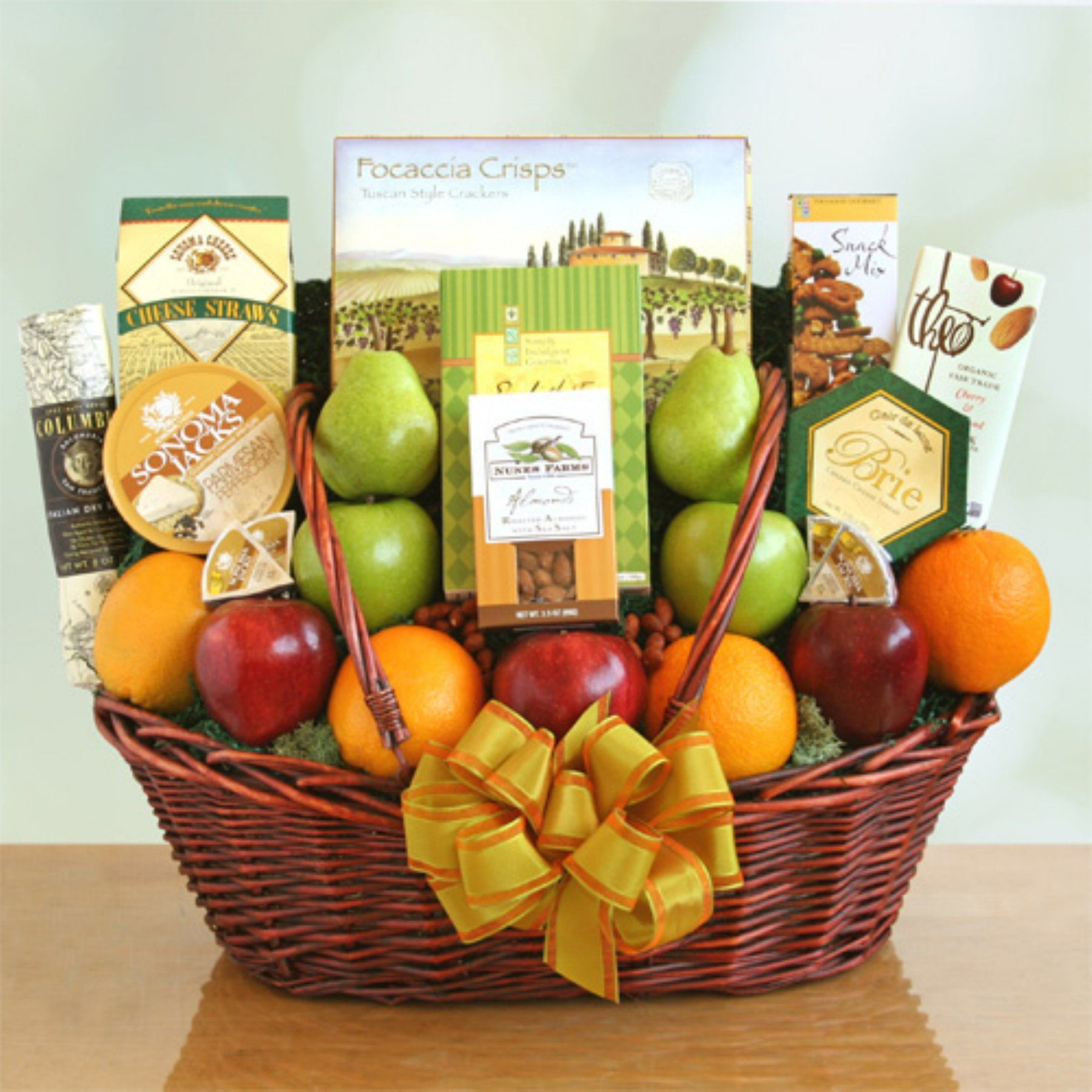 California Freshness Fruit & Gourmet Basket 7649