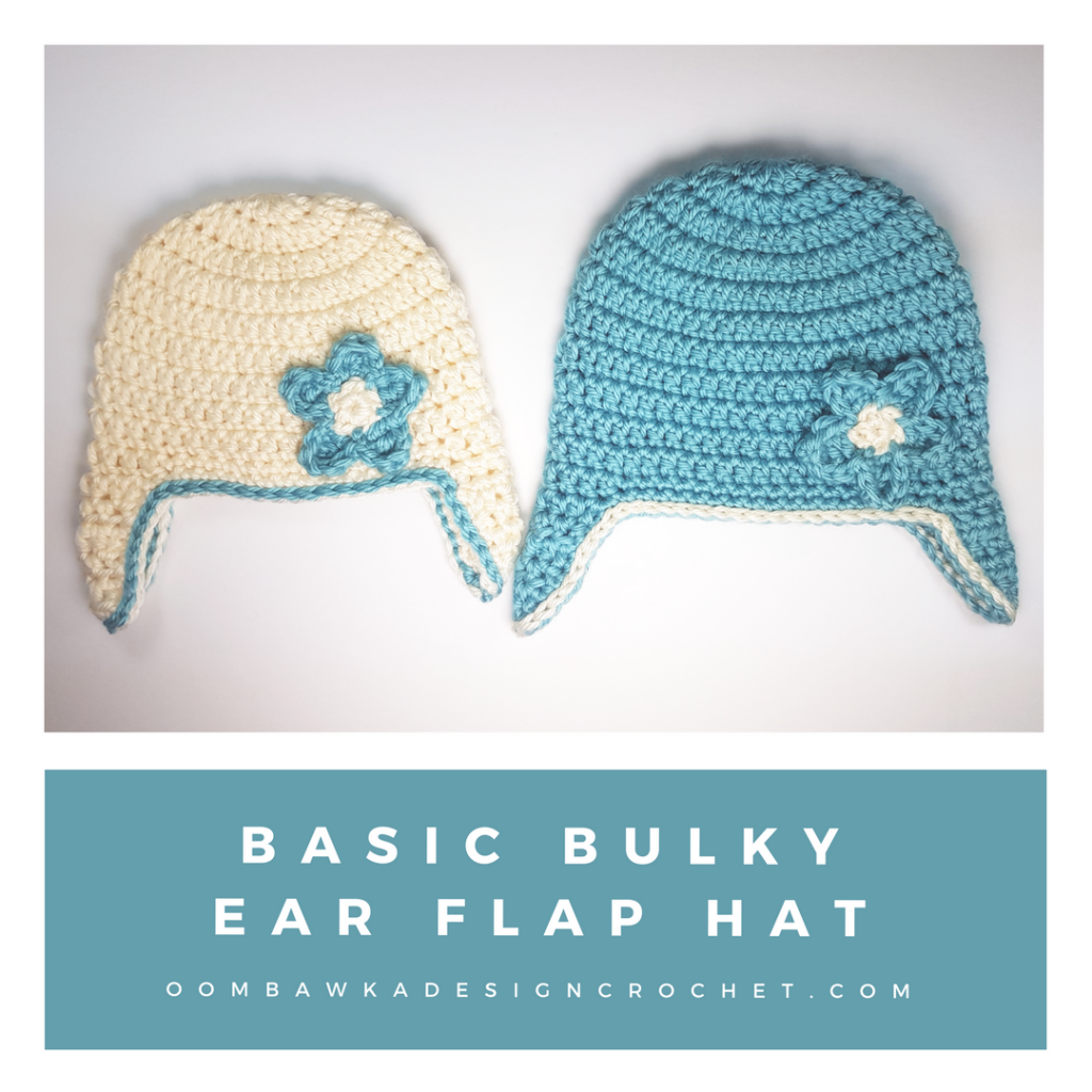 Basic Bulky Ear Flap Hat Pattern | Accessories & Jewelry | Pinterest ...