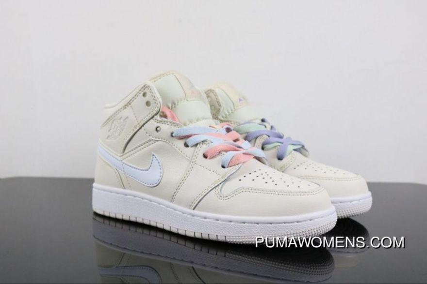 finest selection d0e22 abe41 Air Jordan 1 Ret High SOH 555112-035 Colorways Womens Retro Mandarin Duck  Sports Shoes Beige Top Deals