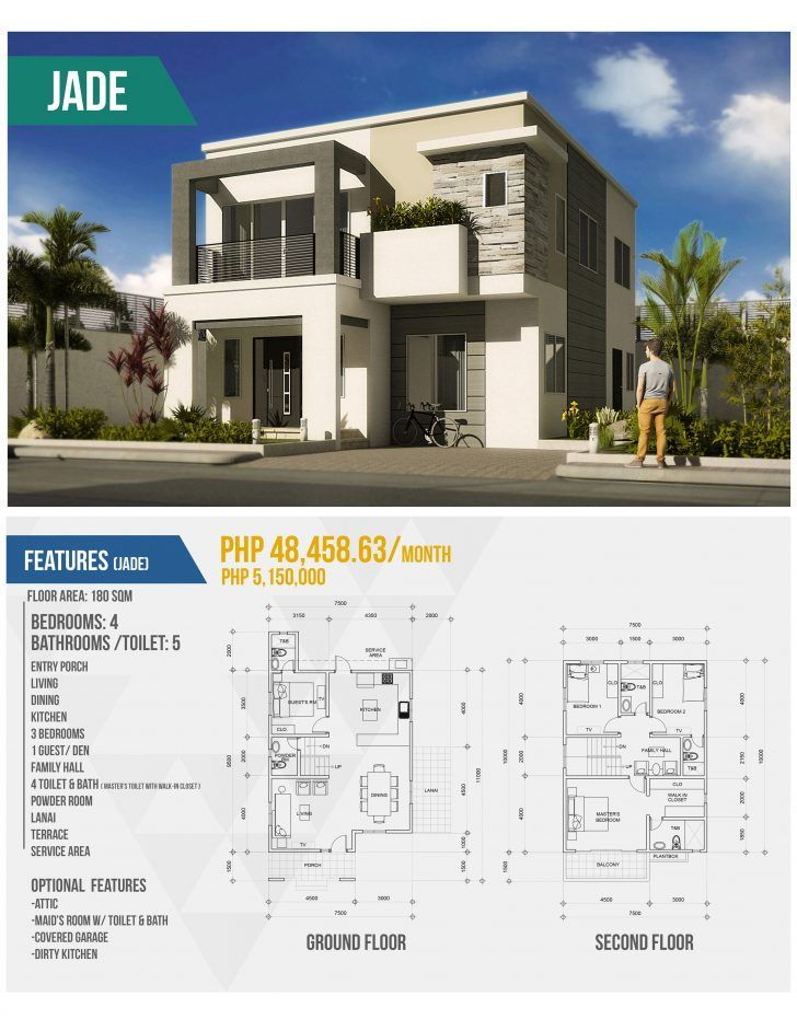 Bungalow House Ideas In Philippines Philippines House Design 2 Storey House Design Modern House Floor Plans