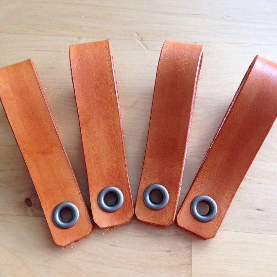 Echt Leder Schublade Oder Schrank Griff/Schublade Ziehen. Ideal Für Diy  Möbel Projekte