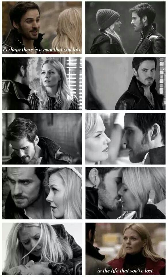 Once Upon A Time Hook and Emma