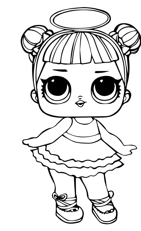 Heartbreaker Lol Doll Coloring Page Super Coloring Pages Princess Coloring Pages Lol Dolls