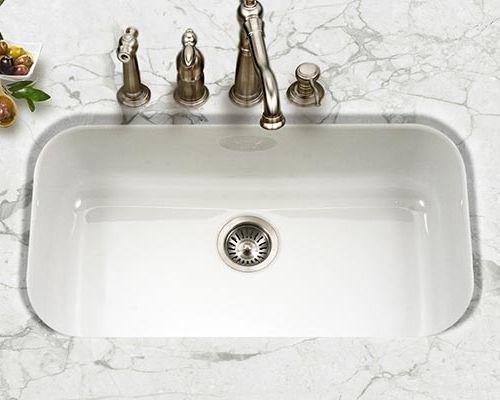 Large White Porcelain Kitchen Sink Porcelain Kitchen Sink