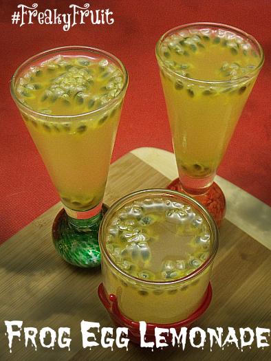 Frog Egg Lemonade for Halloween | Mama Likes To Cook
