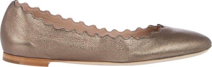 CHLOÉ Lauren Flats. #chloé #shoes #all