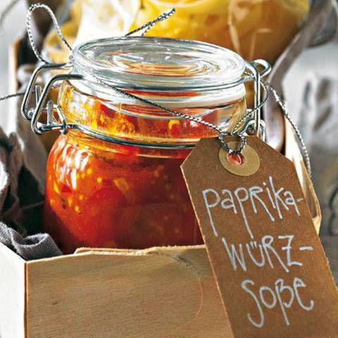 Paprika-Würzsoße