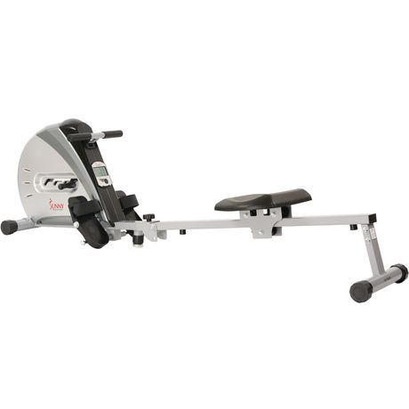 Sunny Health Fitness Sf Rw5606 Rowing Machine Gray Gray Rowing